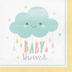 16 Servietten Sunshine Babyshower
