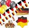 XXL 336 Teile Deutschland Party Deko Basis Set für bis zu 100 Personen