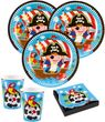 36 Teile Piraten Abenteuer Party Deko Set 8 Kinder