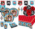 XL 60 Teile Piraten Abenteuer Party Deko Set 8 Kinder