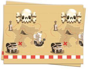 Piraten Jolly Roger Totenkopf Tischdecke