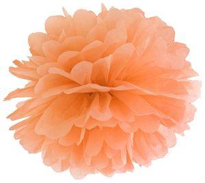 Papier Dekoball Orange 35 cm Durchmesser PomPom