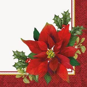 16 Weihnachts Servietten Weihnachtsstern