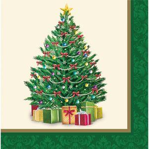 16 Servietten perfekter Weihnachtsbaum