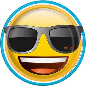8 Papp Teller Emoji Party – Bild 1