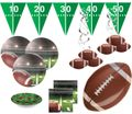 36 Teile American Football Superbowl Party Deko Set für 8 Personen Touchdown