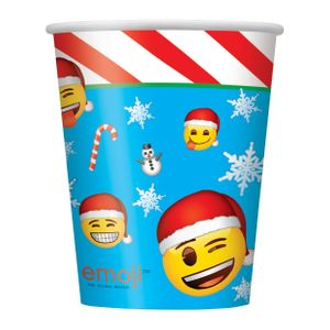 8 Weihnachts Becher Emoji