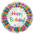 Regenbogen Geburtstag Folien Ballon