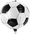 runder Kugelballon aus Folie kleiner Fußball