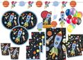 XL 58 Teile Weltall Outer Space Party Deko Set 8 Kinder