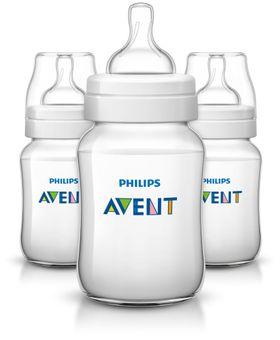 AVENT Anti-Kolik Flasche Klassik 260ml, Dreierpack online kaufen