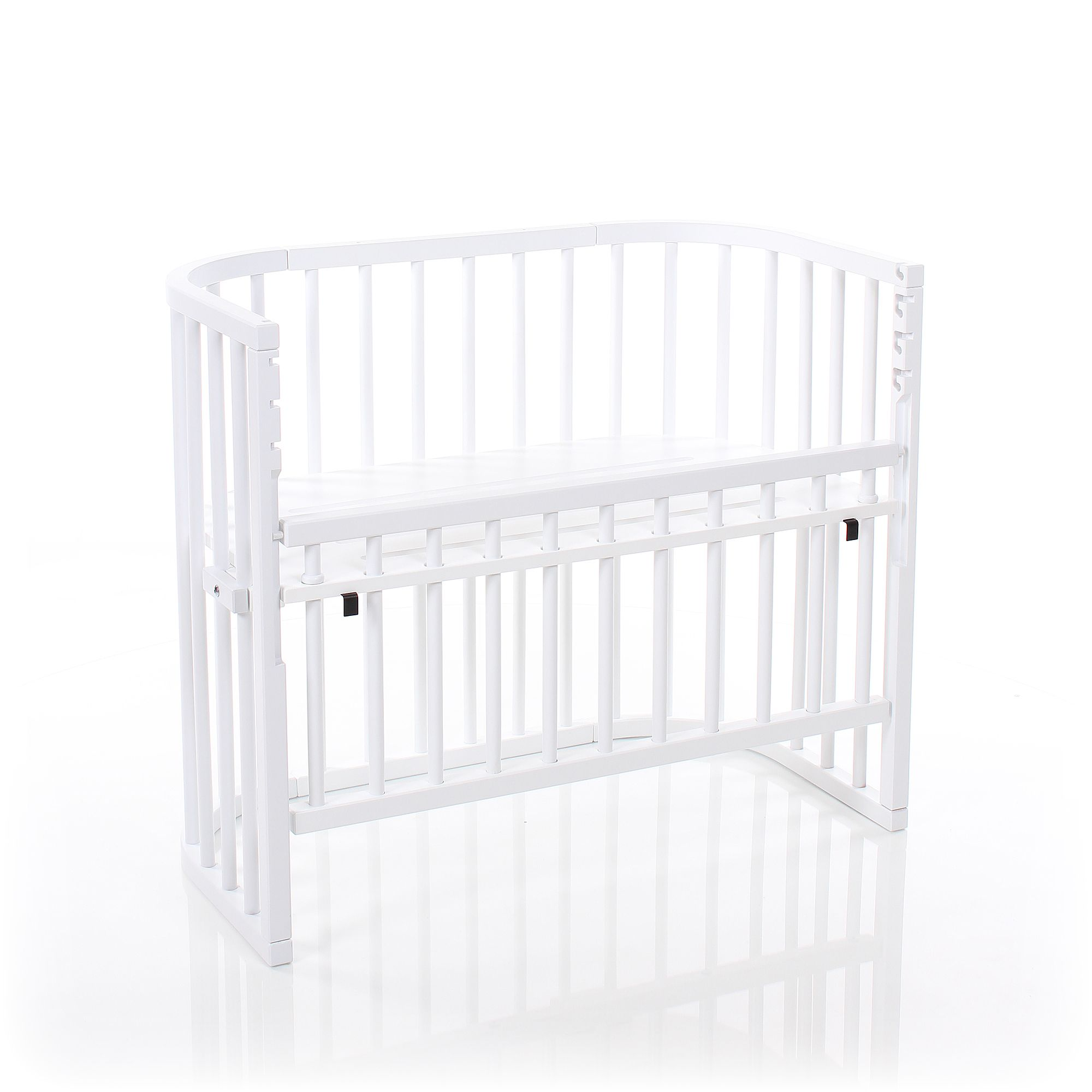babybay beistellbett comfort wei lackiert extra bel ftet. Black Bedroom Furniture Sets. Home Design Ideas