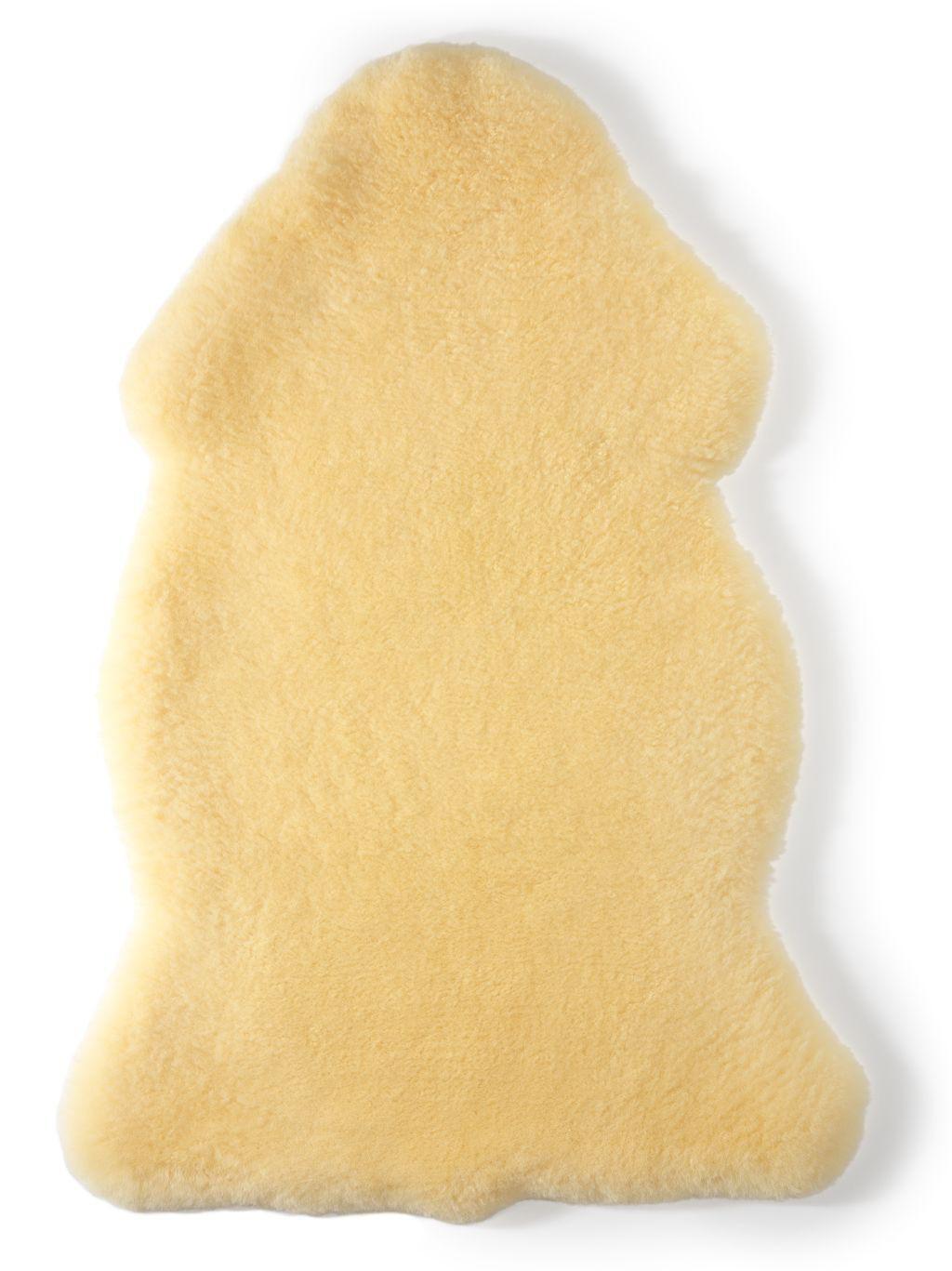 Hofbrucker Baby Lammfell gold-beige geschoren