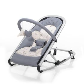 Baby Plus Wippe Isa Grey Animal online kaufen