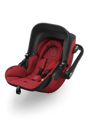 Kiddy Babyschale Evoluna i-Size 071 Ruby Red inkl. Isofix Base 2  online kaufen