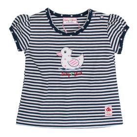Salt&Pepper BG T-Shirt Girls stripes 450 navy blue 68 online kaufen
