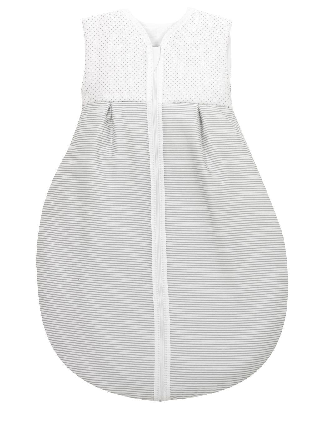 Alvi Baby Kugelschlafsack Molton Little Dots grey 632-9
