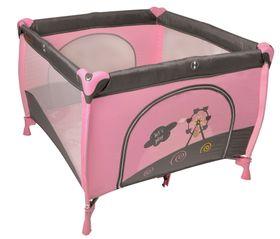 Baninni Nido Piazza Laufstall Pink Bear 100x100 cm