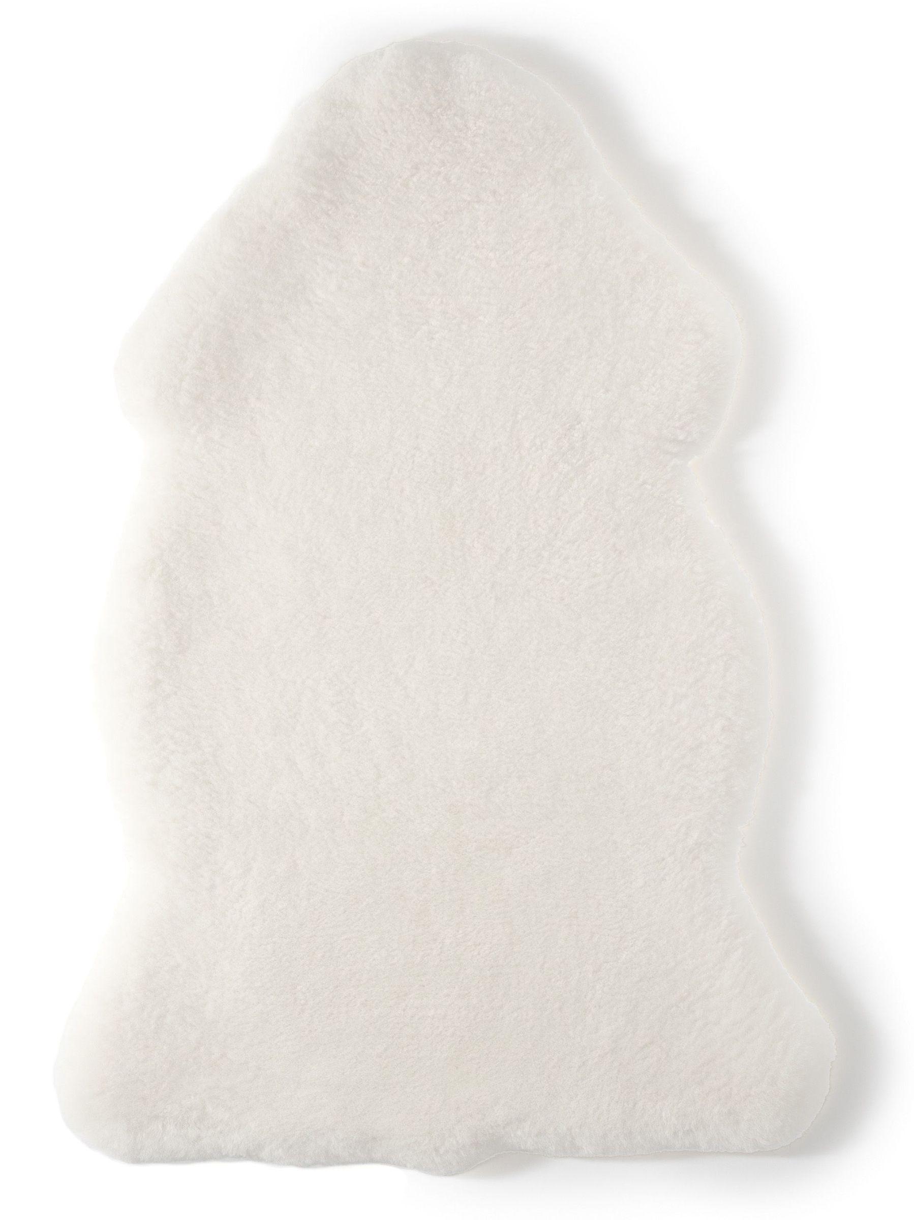 Hofbrucker Baby Lammfell Naturprodukt pflanzlich gegerbt atmungsaktiv weiß