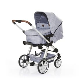 ABC Design Kombi-Kinderwagen Turbo 4 graphite grey inkl. Tragewanne 3in1 B-Ware  online kaufen