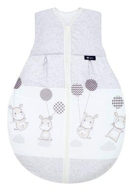 Alvi Baby Kugelschlafsack Molton Hippo silber 972-9 online kaufen