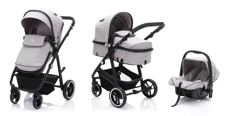 Fillikid fill Kinderwagenset Panther mit Babyschale
