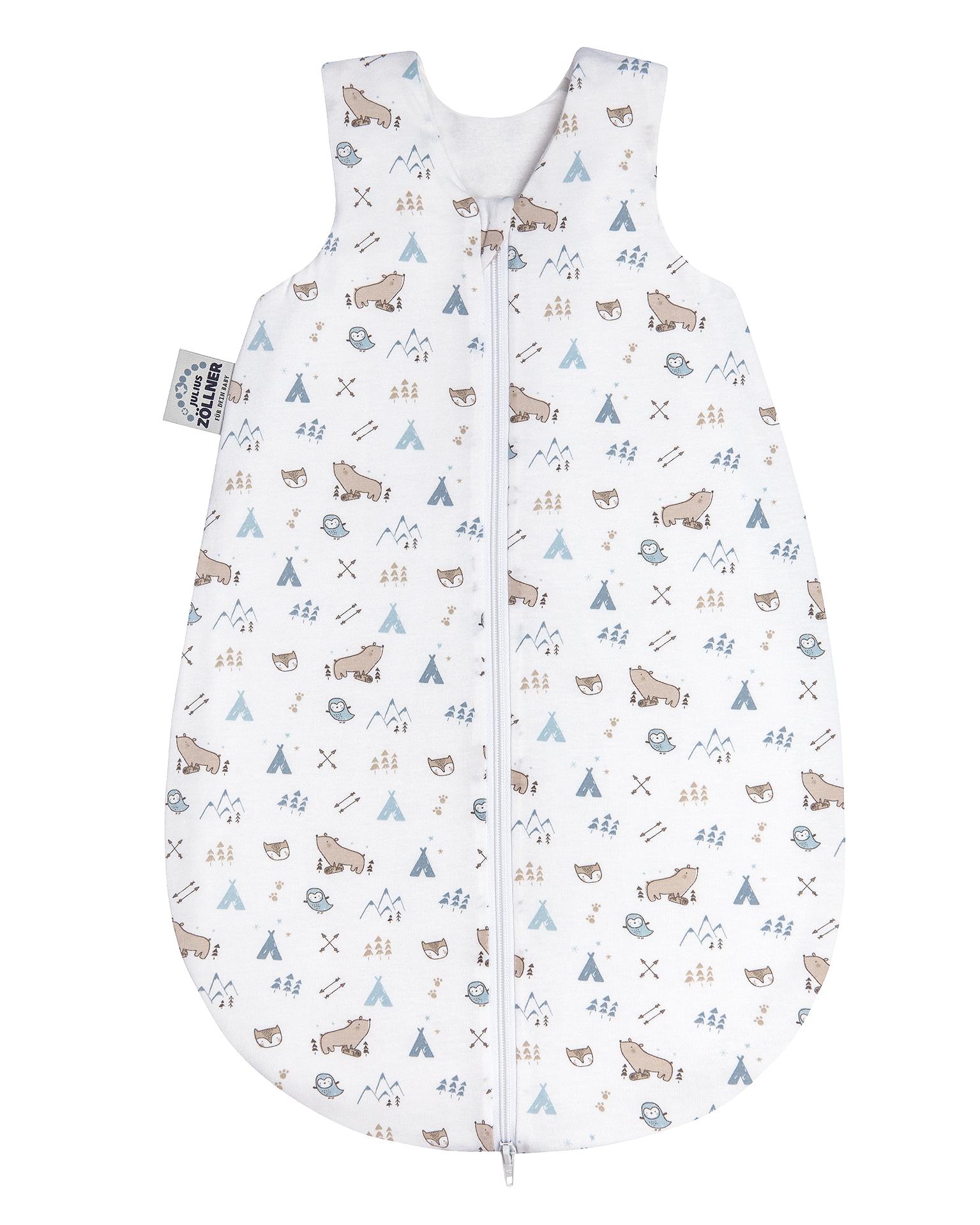 Julius Zöllner Baby Jersey Sommerschlafsack taupe in verschiedenen Größen