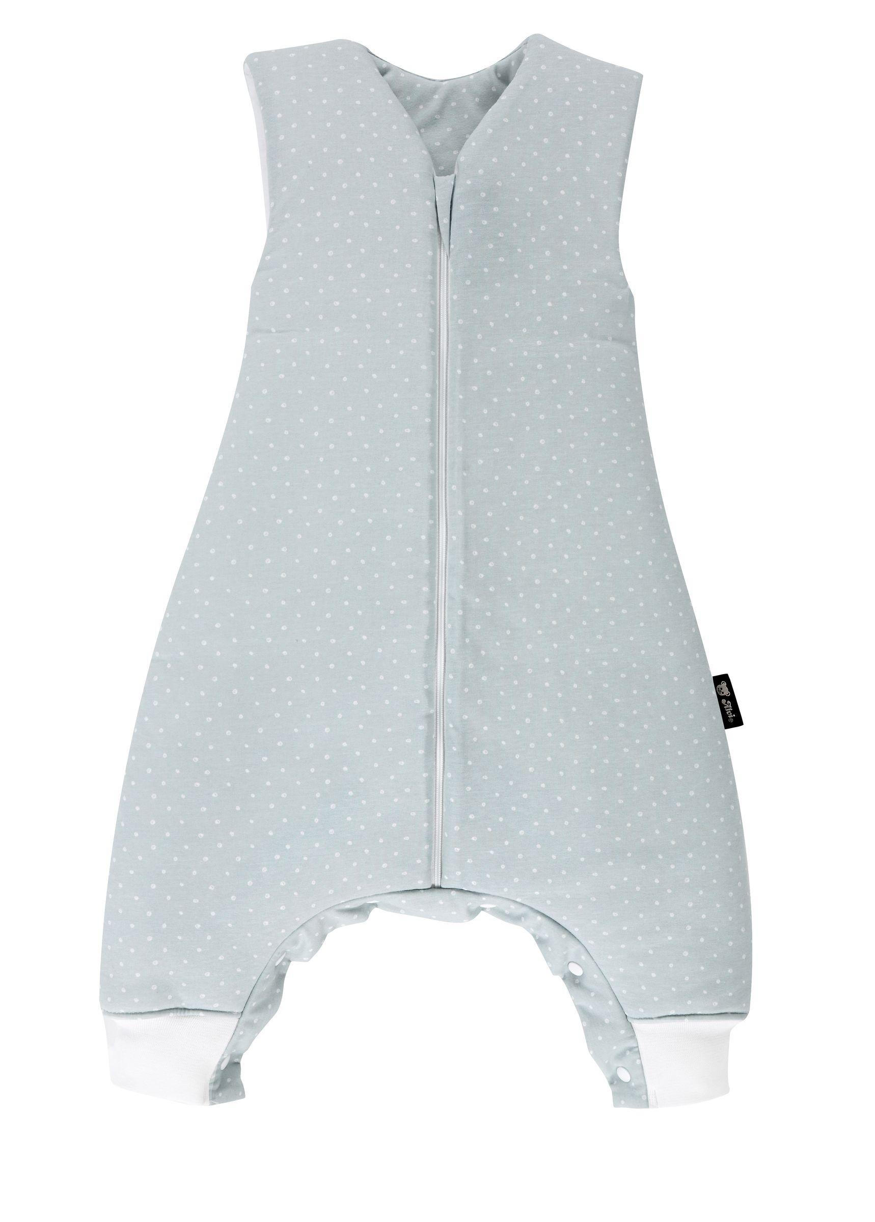Alvi Sleep-Overall Schlafsack mit Füßen TOP