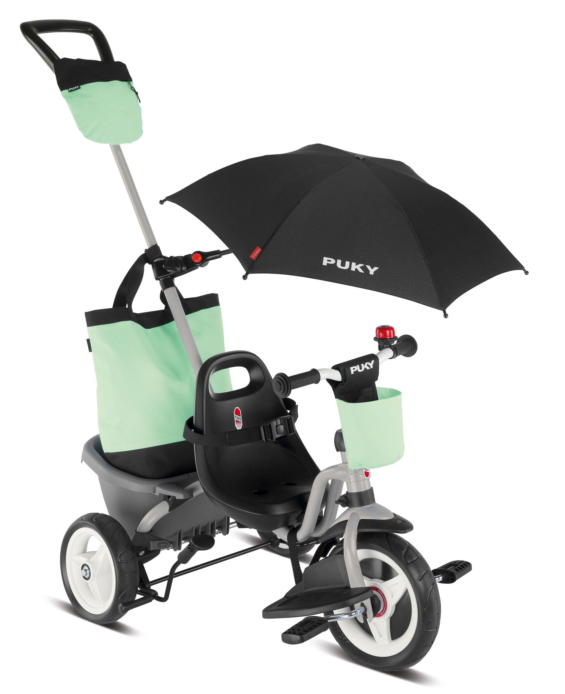 PUKY CEETY COMFORT Dreirad Carry-Touring-Kipper lichtgrau