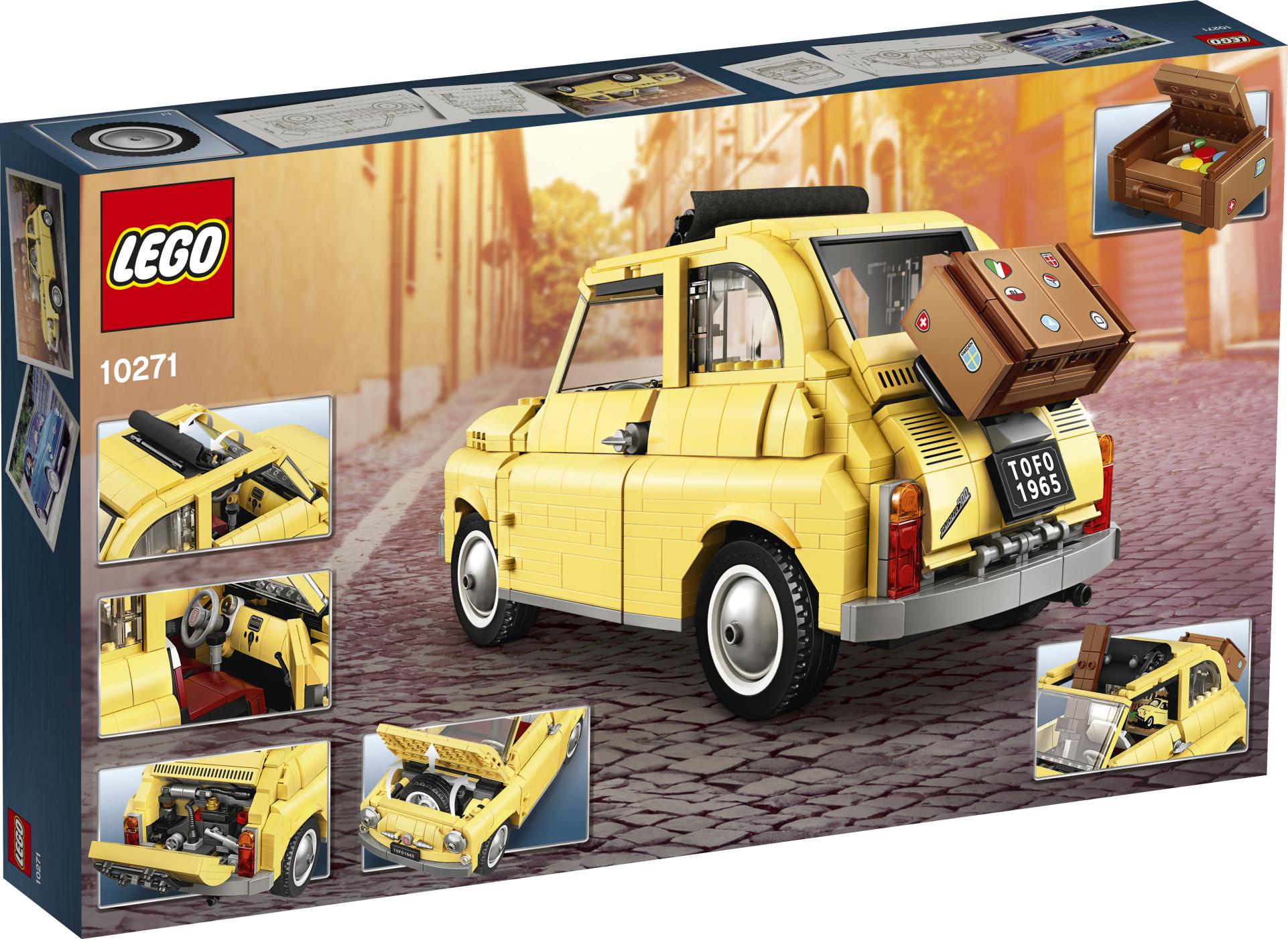 LEGO 10271 Creator Fiat Nuova 500
