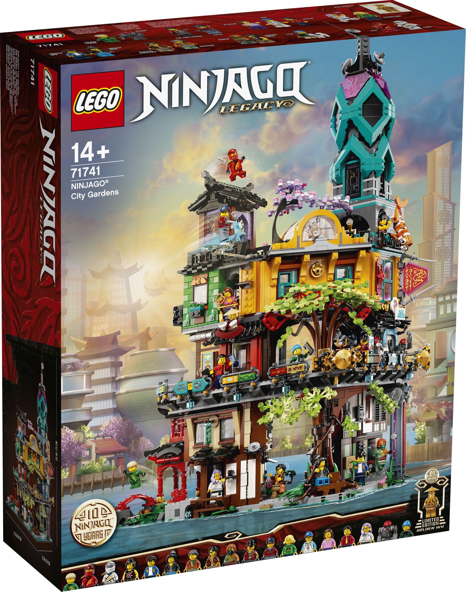 LEGO NIN Die Gärten von NINJAGO City, Seltenes Set.
