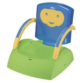 Funny Babytop Kindersitz blau/grün/gelb 7010