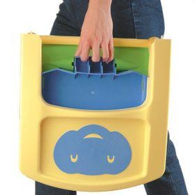 Funny Babytop Kindersitz blau/grün/gelb 7010 online kaufen
