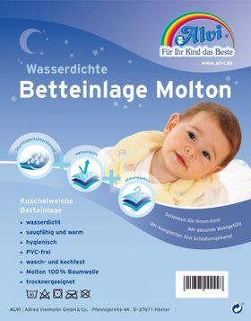 Alvi Wasserdichte Betteinlage Molton/Molton 40 x 50 cm online kaufen