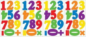 RoomMates Wandsticker Colorful Numbers