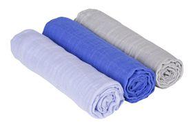 Lässig Einschlag und Mulltuch 3er-Set/85x85cm (Swaddle & Burp Blanket) online kaufen