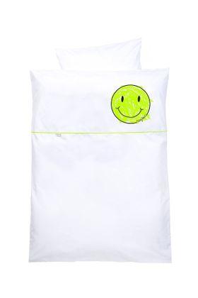 Odenwälder Microfaser-Bettwäsche Smiley 100 x 135 online kaufen