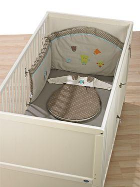 Alvi Nestchen mit Bogen für Kinderbett online kaufen