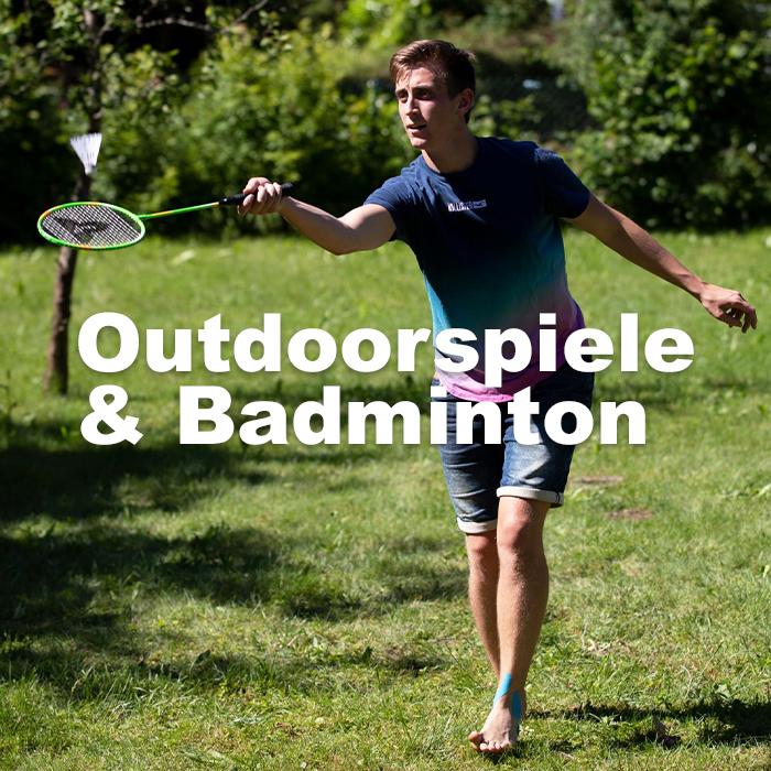 Outdoor-Spiele & Badminton