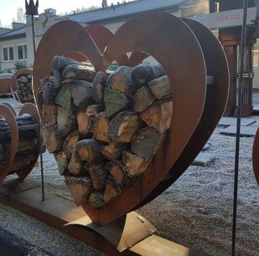 Holzlager Herz – Bild 3