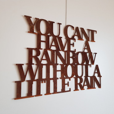 You cant have a rainbow without a little rain – Bild 2