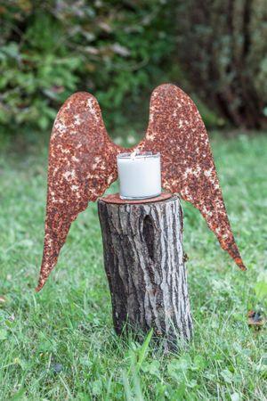 Edelrost Flügel Engel Garten Dekoration Rost Dekoration Weihnachten