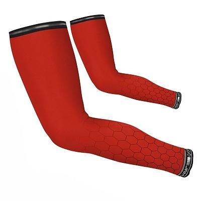 Armlinge Waben Design Rot – Bild 1