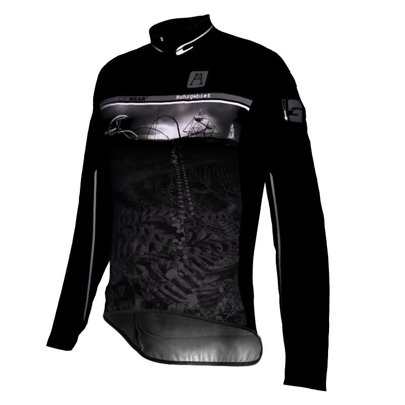 Fahrradjacke Ruhrgebiet Black Edition 001