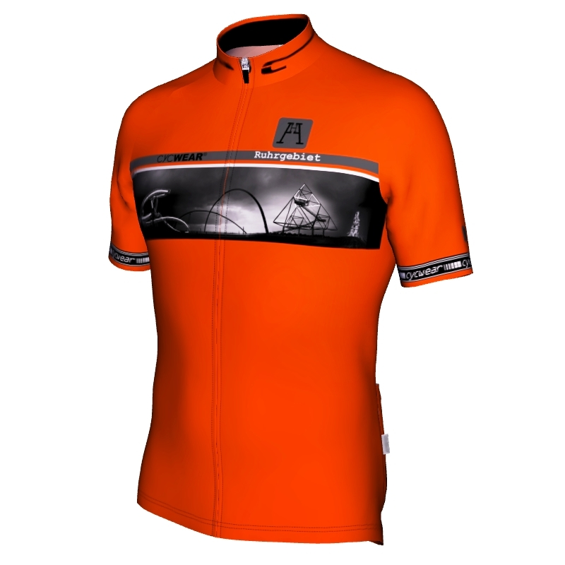 Radtrikot Ruhrgebiet Halden Edition Orange