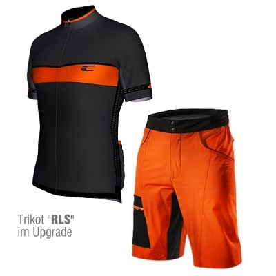 Bike Short CSL Orange Mandarin – Bild 4