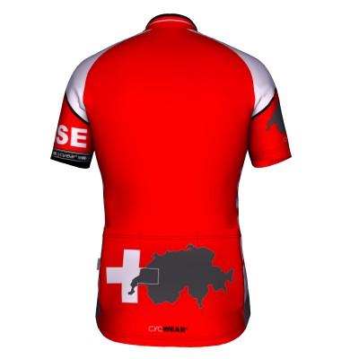 Radtrikot Schweiz SUISSE – Bild 4