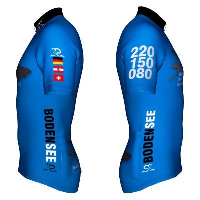 Radtrikot Bodensee Limited Edition Blue – Bild 2