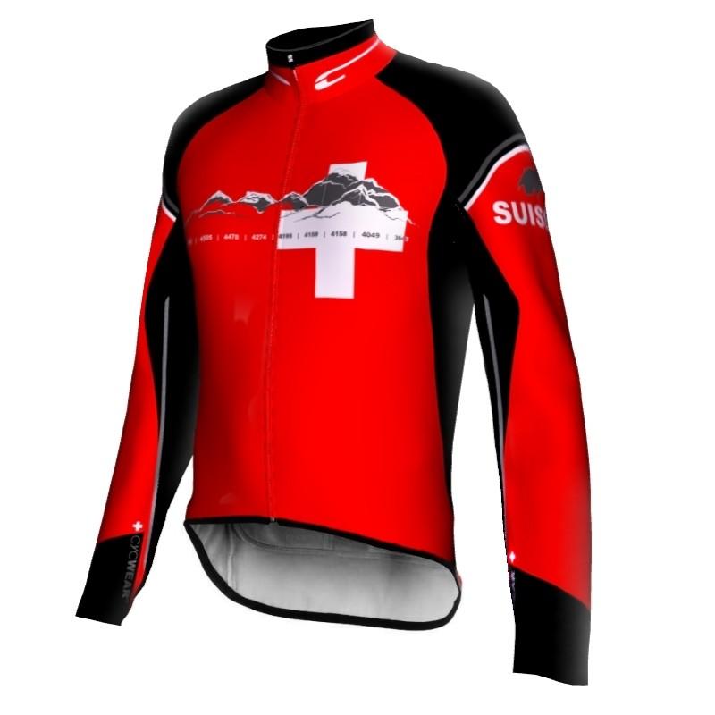 Fahrradjacke Schweiz SUISSE