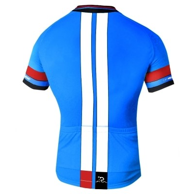 Radtrikot Race Blue Edition – Bild 2